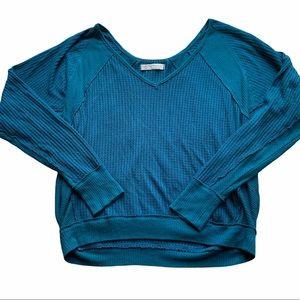 We The Free Waffle Knit Sweater